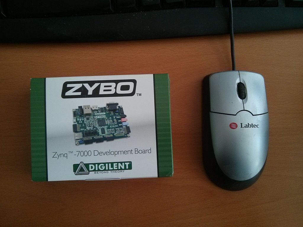 ZYBO package front
